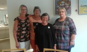 arrangører af netværksmøde i Randers for Frivillige ved  hospice